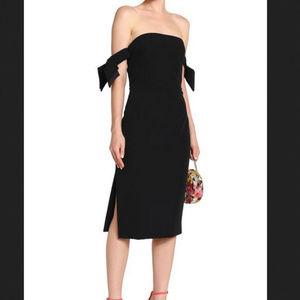 NWT Milly Brit Strapless Sheath Dress Sz 12